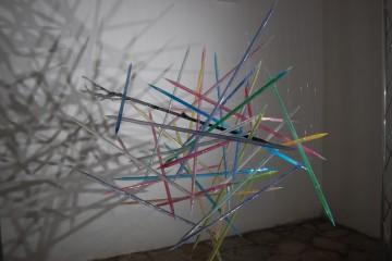 Veduta della mostra Alma Materia, Convento di S. Spirito - Ex Carceri di Nola (NA) Foto: Paolino Napolitano