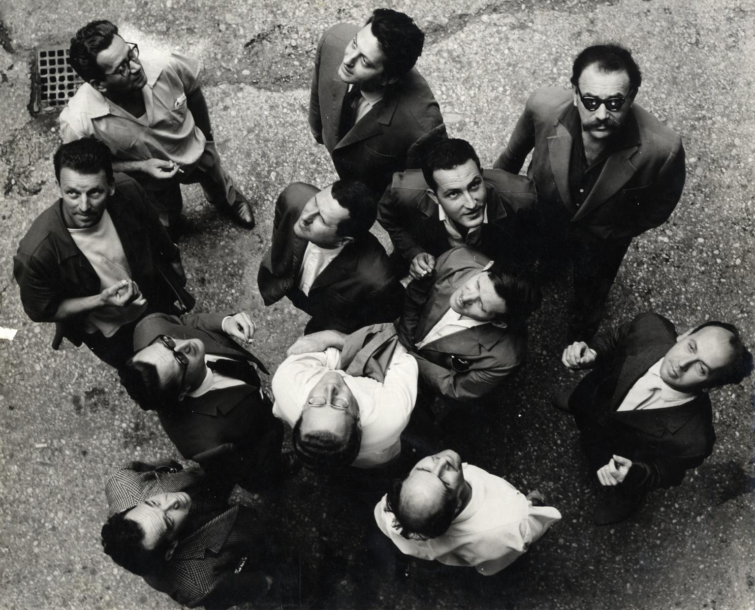 Gorgona Group, Gorgona is Looking at the Sky, 1961, Marinko Sudac Collection