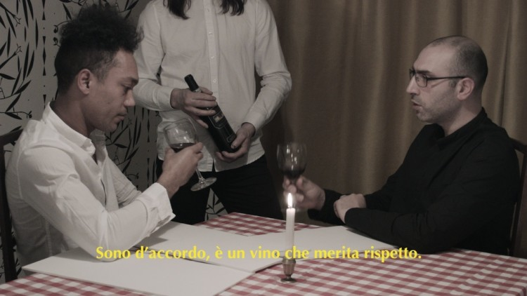 Matthew Brannon, It's the Wine Talking, 2016, DVD: HD NTSC, 10:00 minutes Courtesy the artist and Gio Marconi, Milano