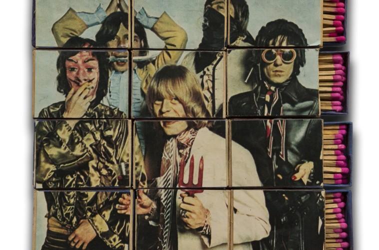 OHO Group (Marko Poga Ynik), Rolling Stones Matchboxes, 1967, Marinko Sudac Collection