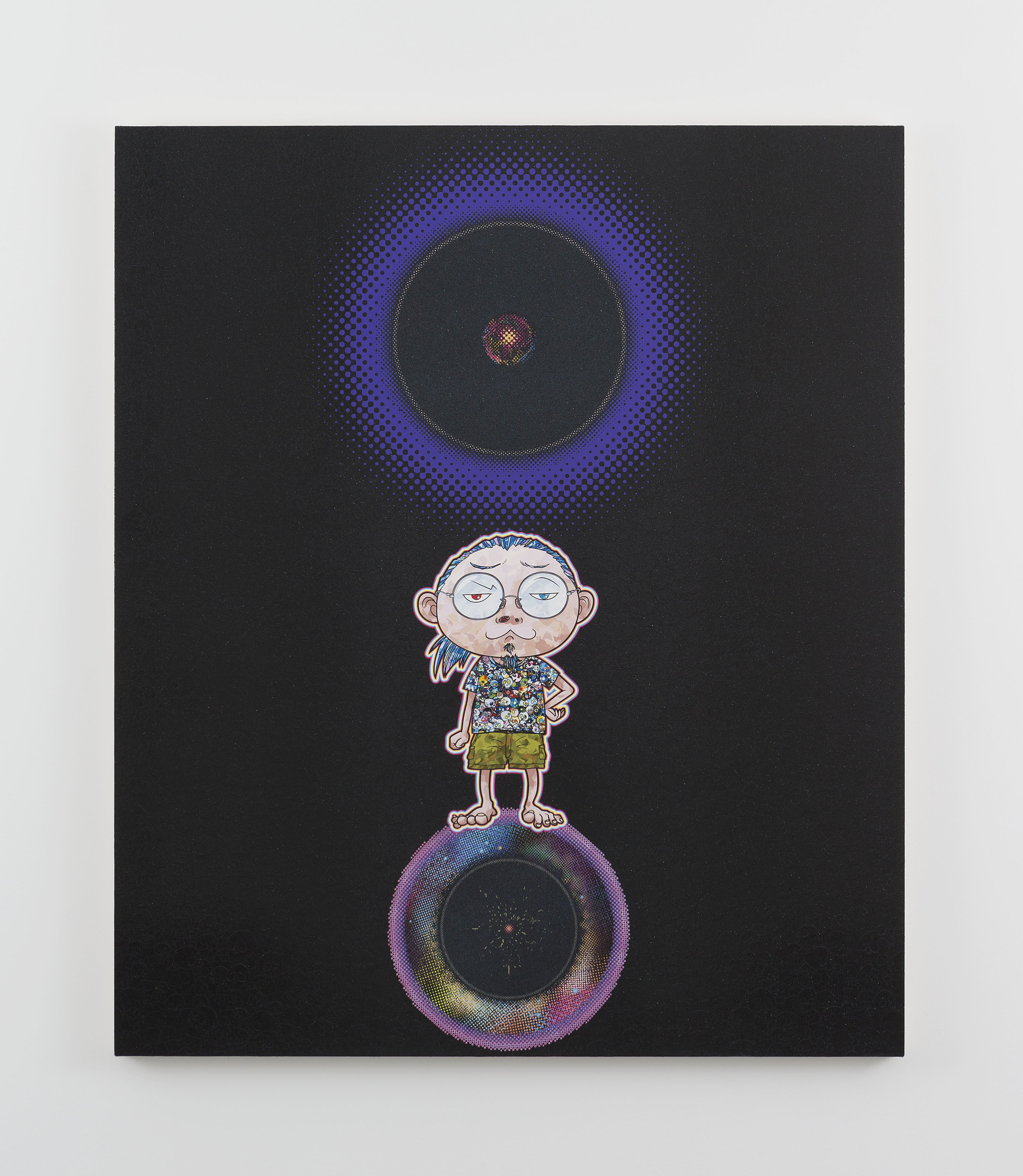 Ensō: At Our Side, Bending Space-time, 2015 © 2015 Takashi Murakami/Kaikai Kiki Co., Ltd. All Rights Reserved. Courtesy Galerie Perrotin