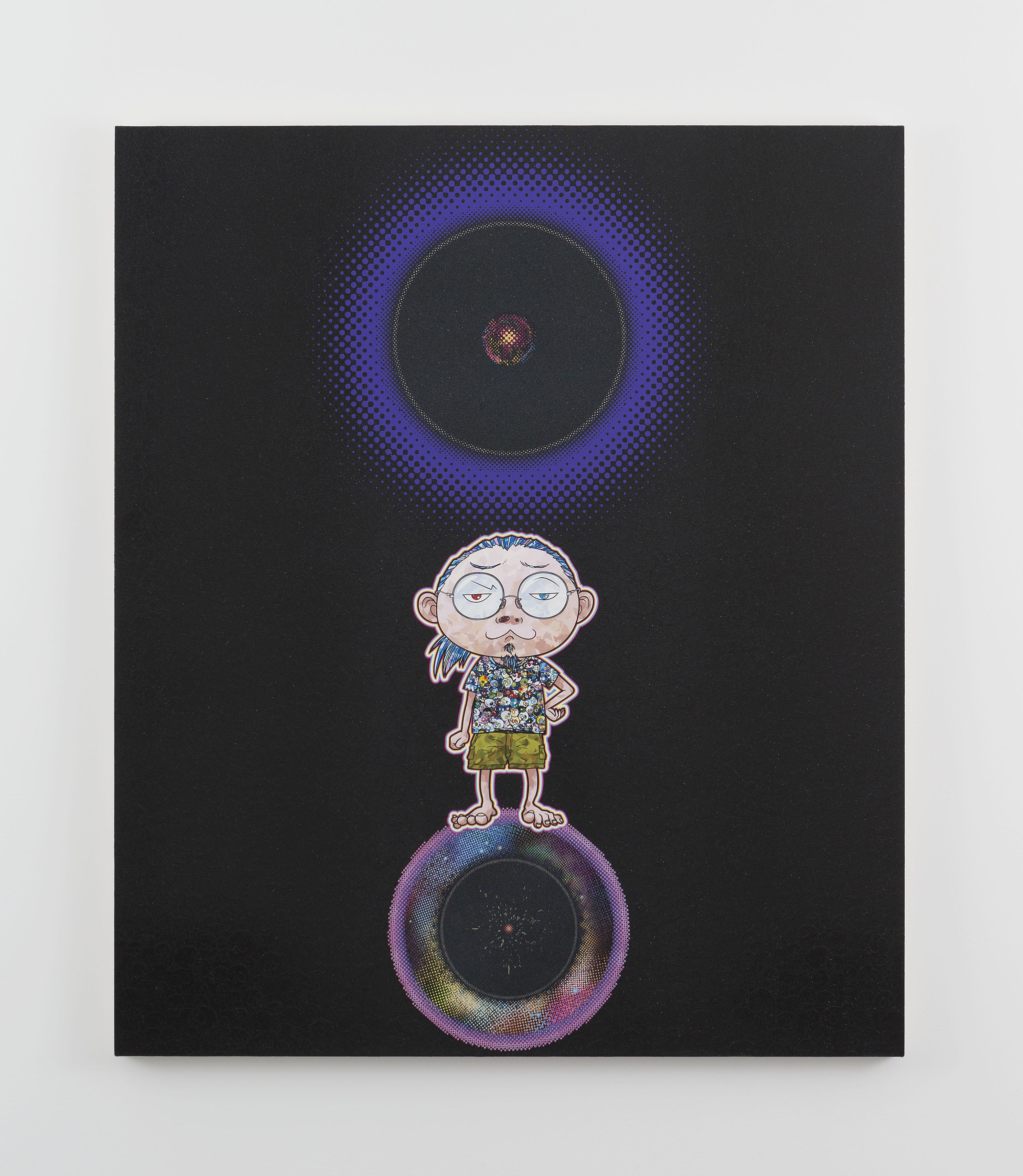 Ensō: At Our Side, Bending Space-time, 2015 © 2015 Takashi Murakami/Kaikai Kiki Co., Ltd. All Rights Reserved. Courtesy Galerie Perrotin
