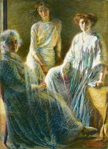 Umberto Boccioni, Tre donne, 1909-1910 Milano, Collezione Intesa Sanpaolo, Gallerie d'Italia Piazza Scala