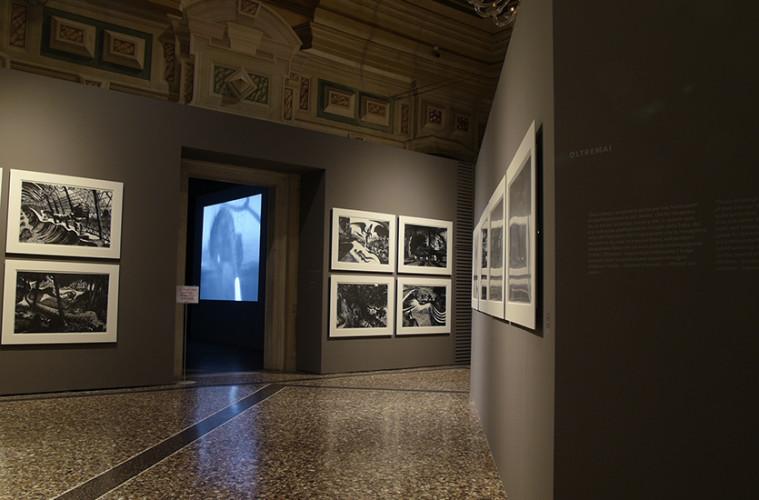 Lorenzo Mattotti. Sconfini, veduta della mostra a Villa Manin