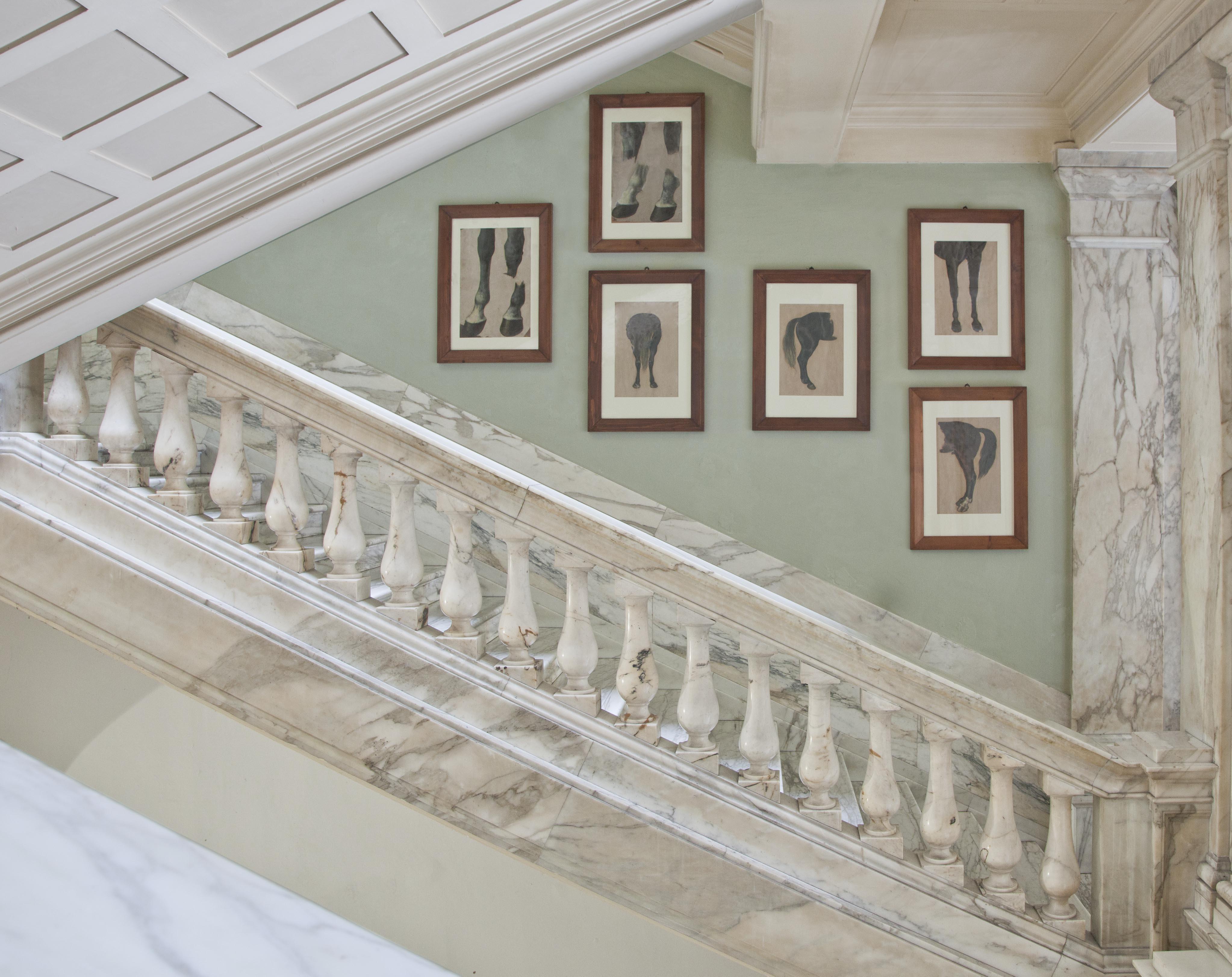 Accademia di Belle Arti di Carrara. Scalone della Vittoria. Foto: Robert Pettena