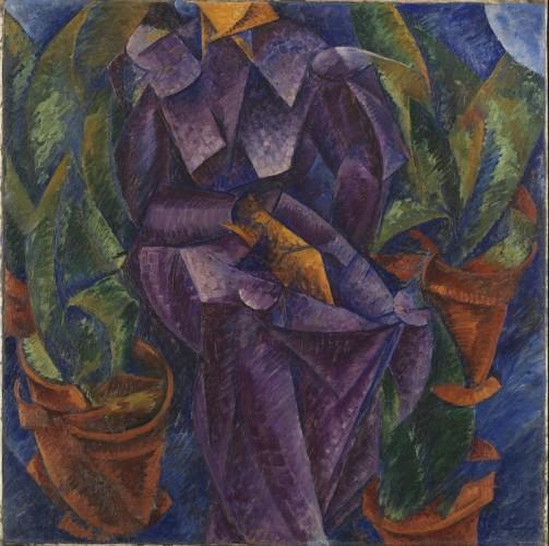Umberto Boccioni, Costruzione spiralica, 1913, Museo del Novecento, Milano