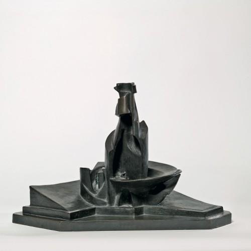 Umberto Boccioni, Sviluppo di una bottiglia nello spazio, 1912, Milano, Museo del Novecento