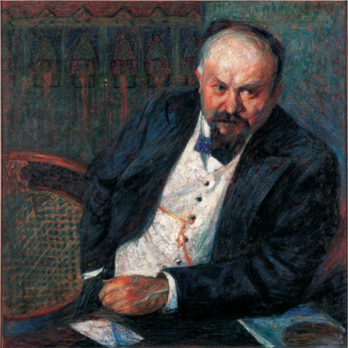 Umberto Boccioni, Ritratto di Achille Tian, 1907, Fondazione Domus per l'arte moderna e contemporanea, Verona