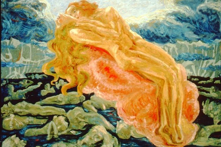 Umberto Boccioni, Il sogno - Paolo e Francesca, 1908-1909, Collezione privata