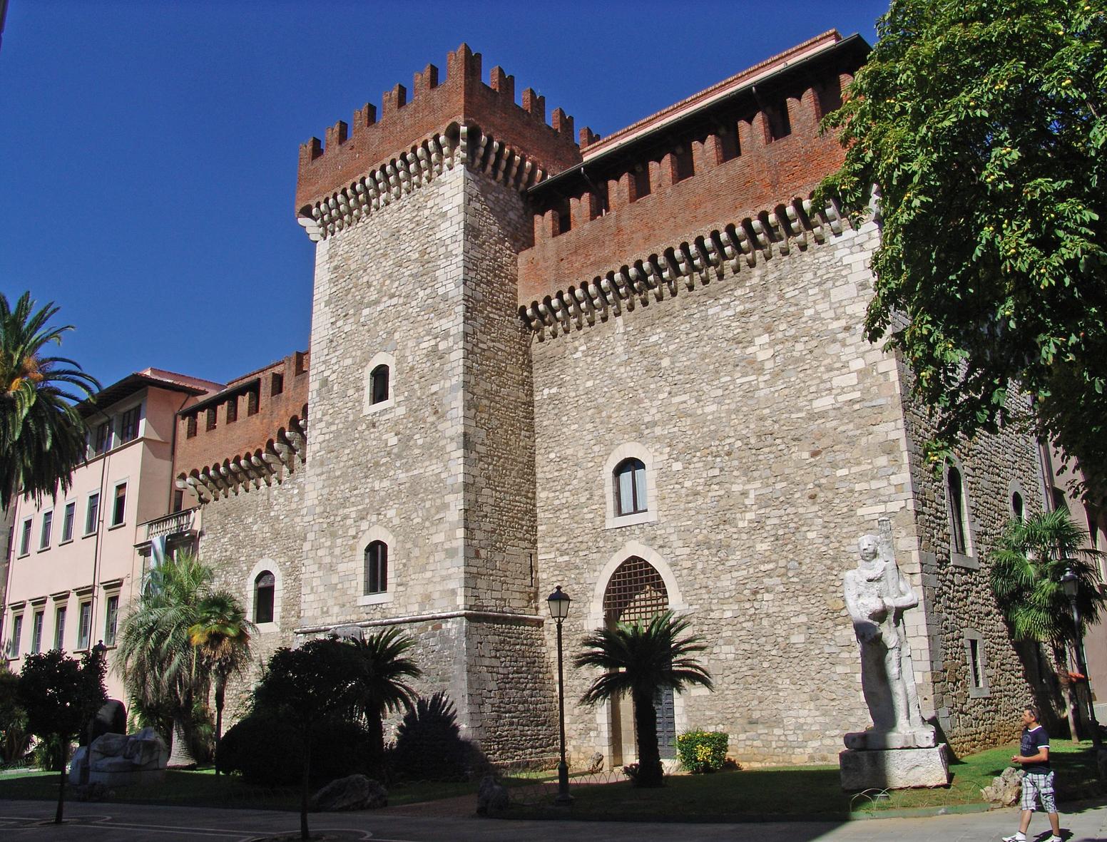 Accademia di Belle Arti di Carrara. Veduta esterna Foto: V. E. Brambilla