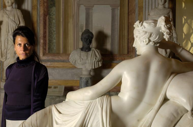 Anna Coliva director of the museum villa Borghese in Rome, © Gerald Bruneau / Grazia Neri