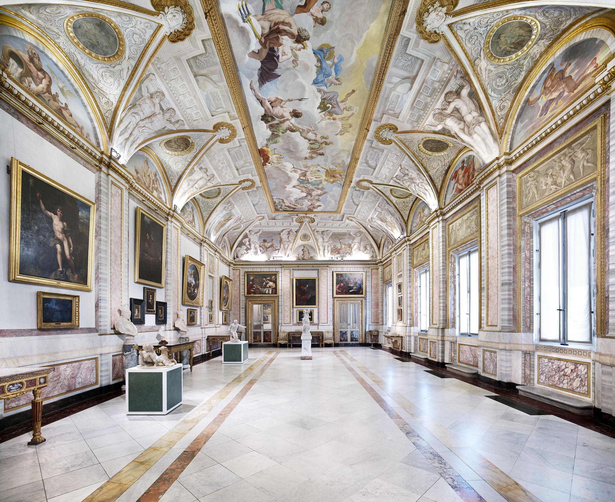 Galleria del Lanfranco, Galleria Borghese. Foto: © Candida Höfer