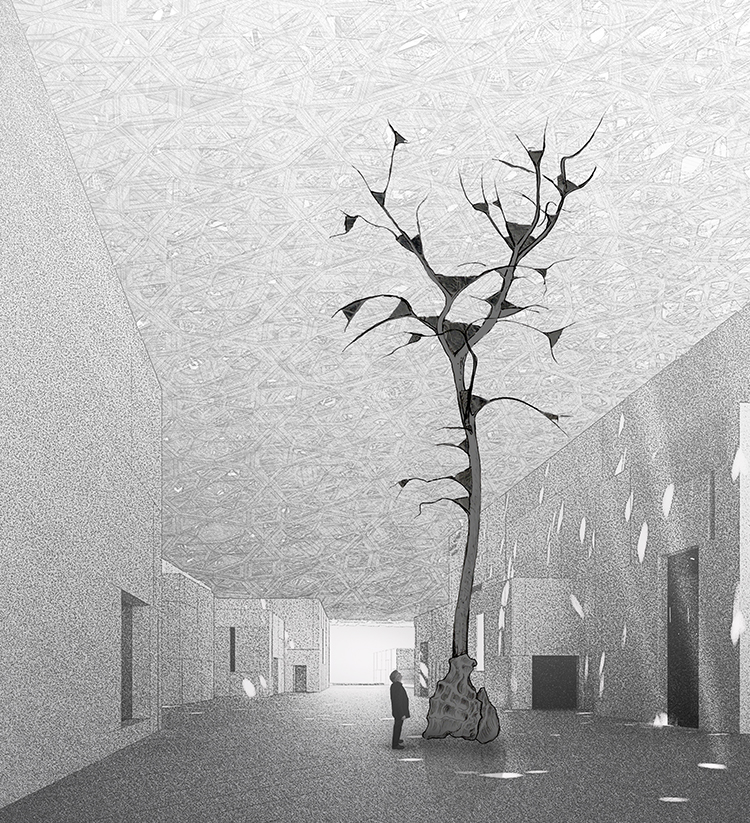 Leaves of Light - ® Giuseppe Penone, Ateliers Jean Nouvel