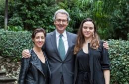 Premiazione Quadriennale 16, Rossella Biscotti, Franco Bernabè, Adelita Husni-Bey Foto OKNOstudio