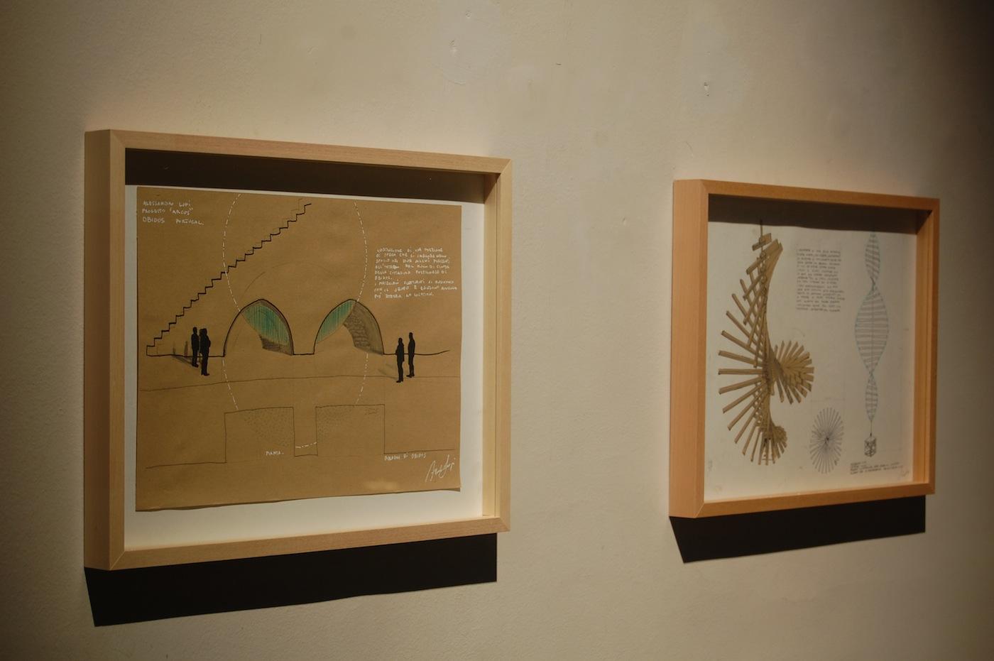 Alessandro Lupi, Lights and Shadows, veduta della mostra (progetti). Courtesy Guidi & Schoen, Genova