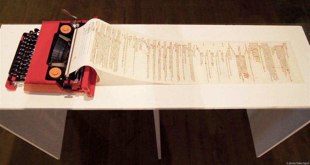 Donatella Lombardo, Rimediazioni analogiche, 2015, tecnica mista, 90x145x40 cm