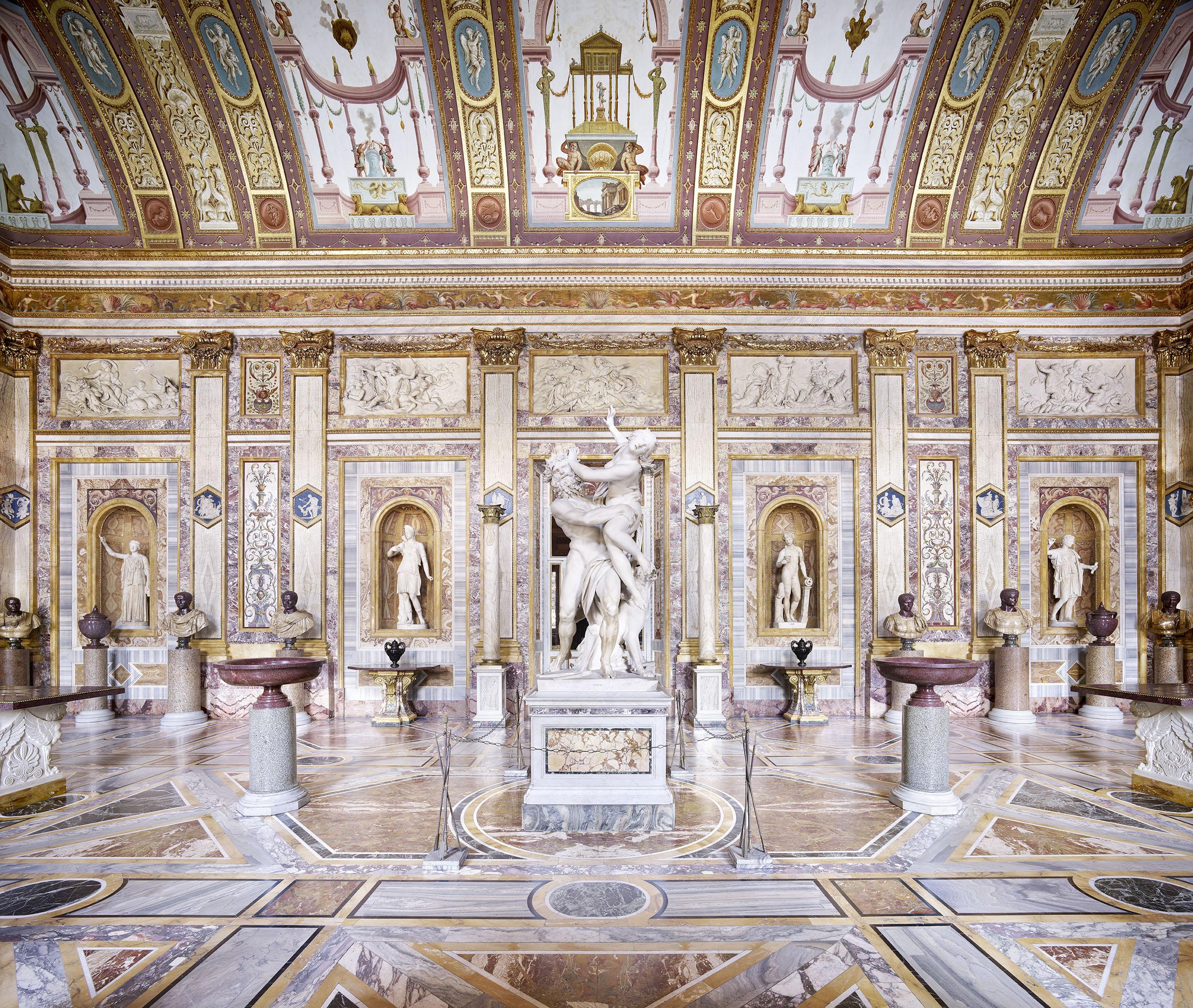 Salone degli Imperatori, Galleria Borghese. Foto: © Candida Höfer