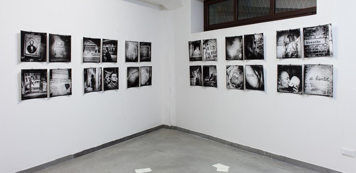 """Stoner. Landing Pages"", veduta allestimento, Alviani ArtSpace, Pescara. Foto: Stefano Lanzardo"