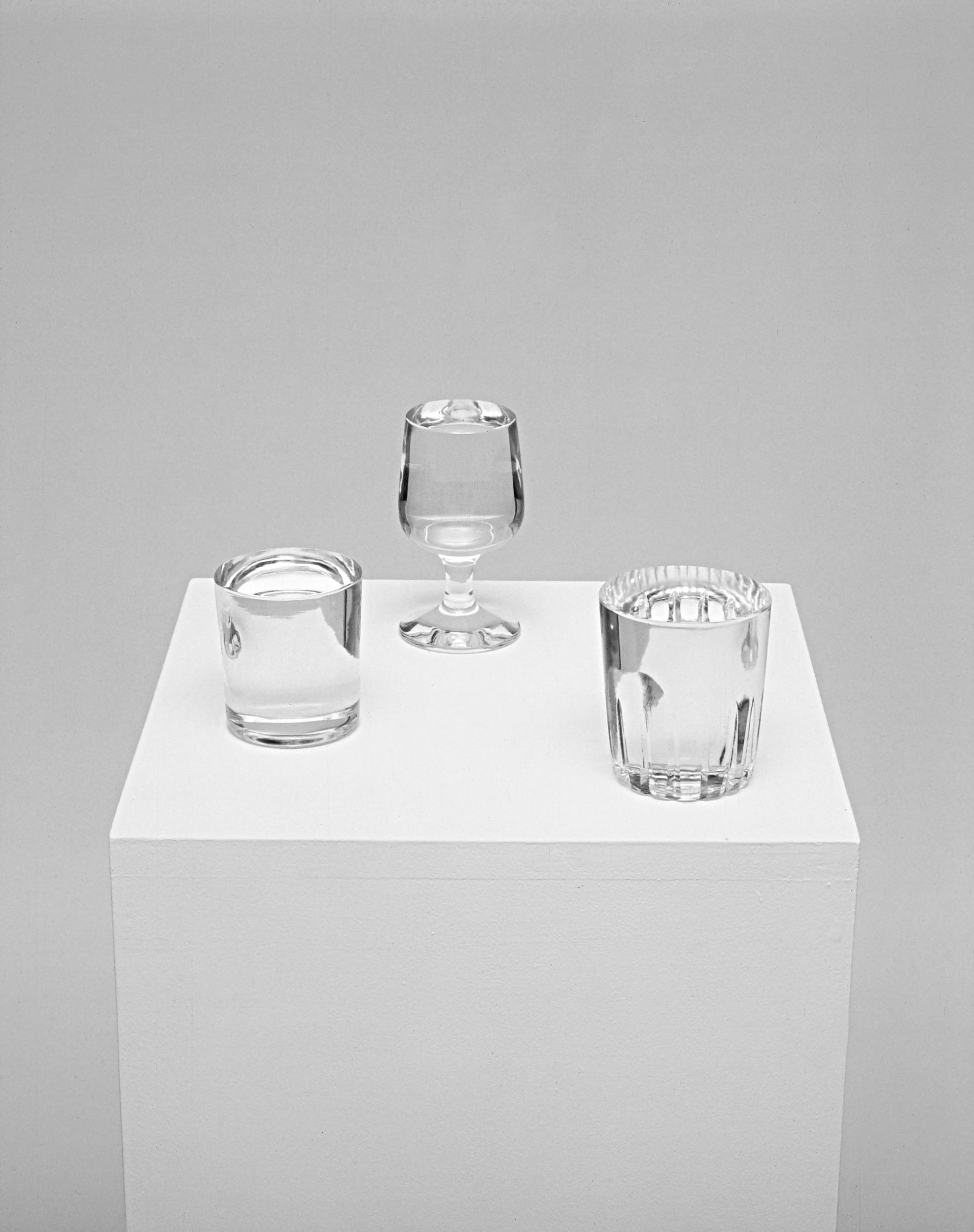 Carlo Benvenuto, Senza Titolo, 1999, vetro di Murano, cm 9x12, cm 9x14,cm 10x12