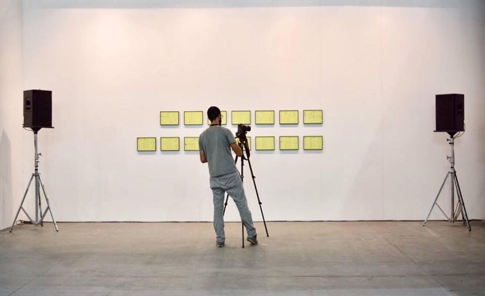 Per4m Artissima 2016. Ursonate in Arabic Pronunciation22 di Dina Danish (Barbara Seiler Gallery)