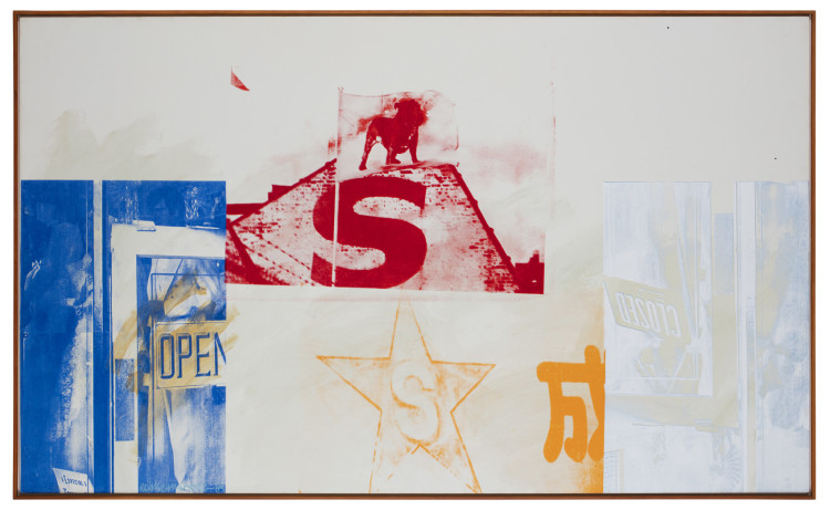 Anniversary (Salvage), 1984 Courtesy Robert Rauschenberg Foundation and Galerie Thaddaeus Ropac, Paris/Salzburg © Robert Rauschenberg Foundation/ADAGP, Paris 2016