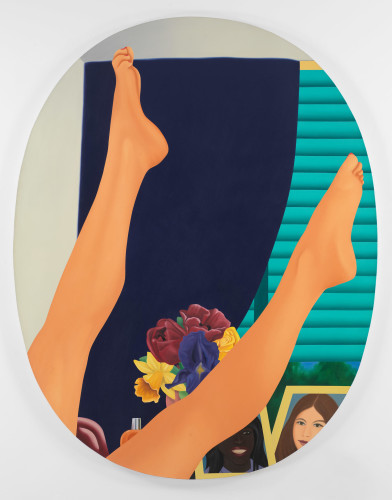 Bedroom Painting #35, 1967-75 Courtesy of The Estate of Tom Wesselmann and Almine Rech Gallery