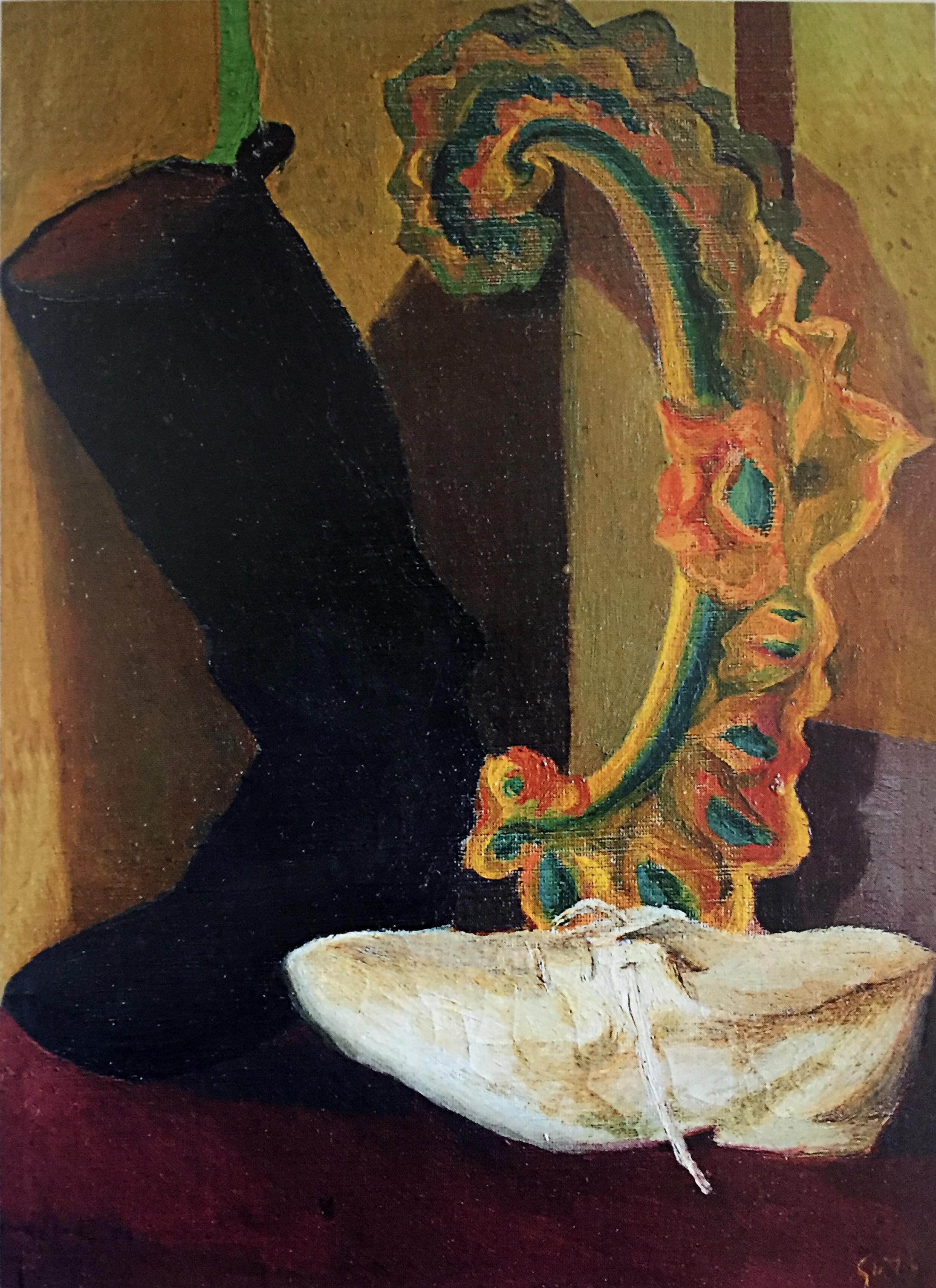 Renato Guttuso, Natura morta con scarpe, 1935