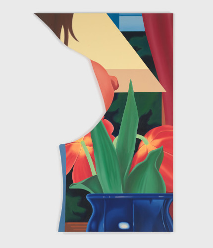 Bedroom Painting #67, 1983 Courtesy of The Estate of Tom Wesselmann and Almine Rech Gallery