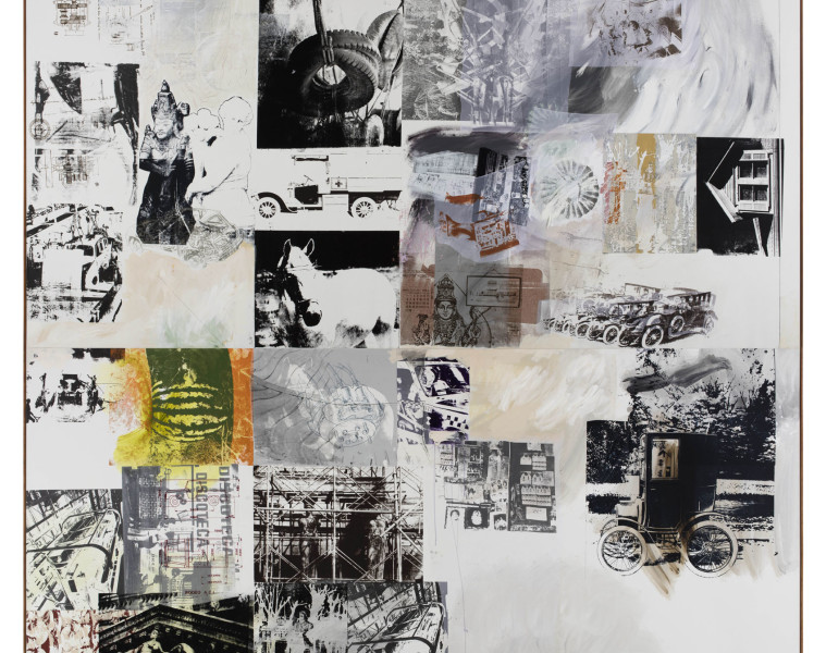 Rollings (Salvage), 1984 Courtesy Robert Rauschenberg Foundation and Galerie Thaddaeus Ropac, Paris/Salzburg © Robert Rauschenberg Foundation/ADAGP, Paris 2016