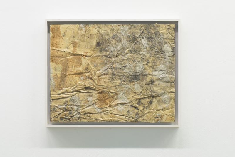 Mimmo Rotella, 3000 anni avanti Cristo, 1954, retro d'affiche, cm 51x66. Ph. Claudia Cataldi, Prato. courtesy Frittelli Arte Contemporanea, Firenze