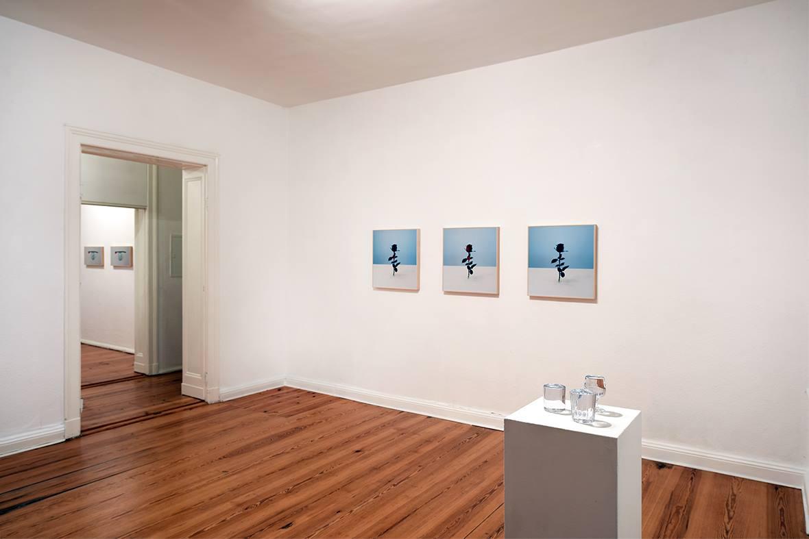 Carlo Benvenuto, Hunky Dory, veduta della mostra. Courtesy Galerie Mazzoli, Berlino