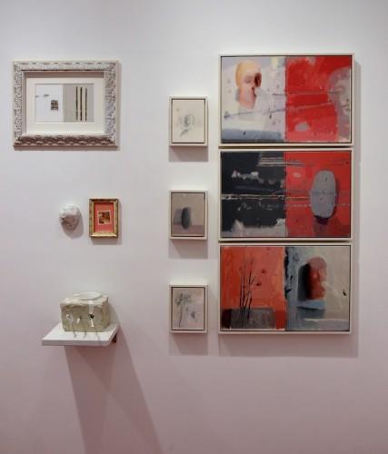 Guido Pecci Di Roma e di latre cose sparse, 2016, installazione Courtesy Galleria Honos Art, Roma