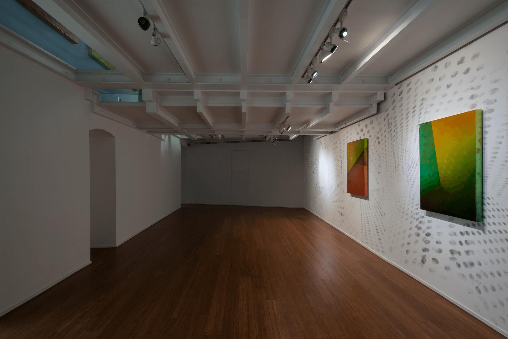 Matteo Negri   Piano Piano ABC-ARTE Genova, installation view -Wall