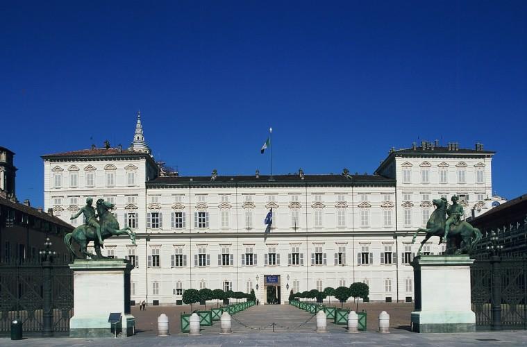 Palazzo Reale, Torino. Facciata