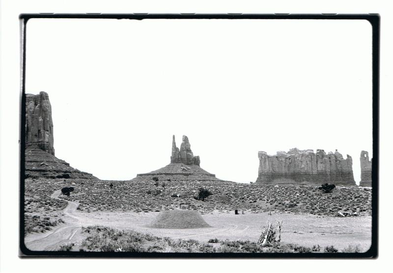 Gianni Pettena, About non conscious architecture - Monument Valley, cm 120x90