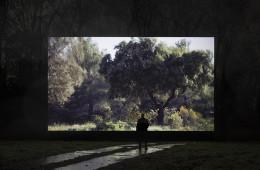 Quayola, Pleasant Places, 2015, installation view, Glow Festival