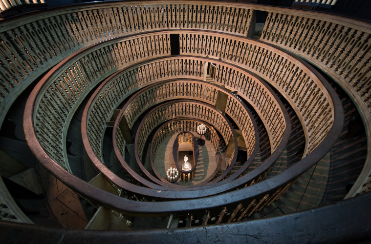 Teatro Anatomico, Palazzo Bo, Università degli Studi di Padova, 1595. Foto: Rolando Paolo Guerzoni
