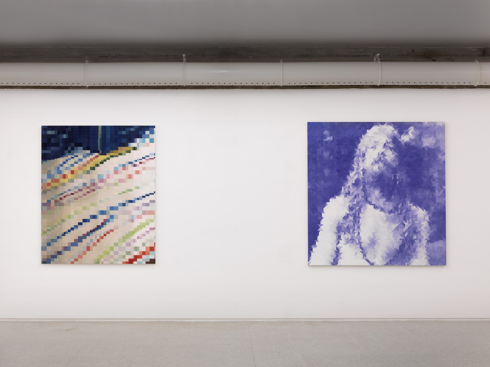 Geometria figurativa, veduta di mostra, Collezione Maramotti, Reggio Emilia, Ph. C. Dario Lasagni