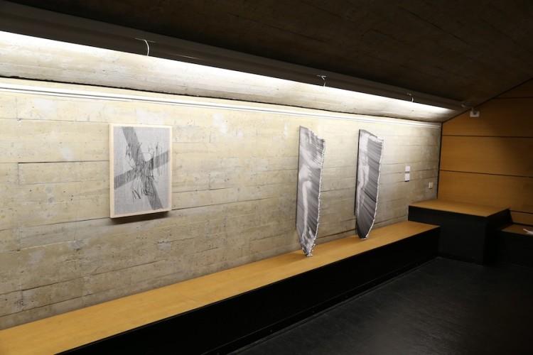 """Giorgio Tentolini. Iconoclastie, veduta della mostra (serie """"Degenere"""" e """"Vulnerabili""""), Spazio Aperto San Fedele, Galleria San Fedele, Milano"""