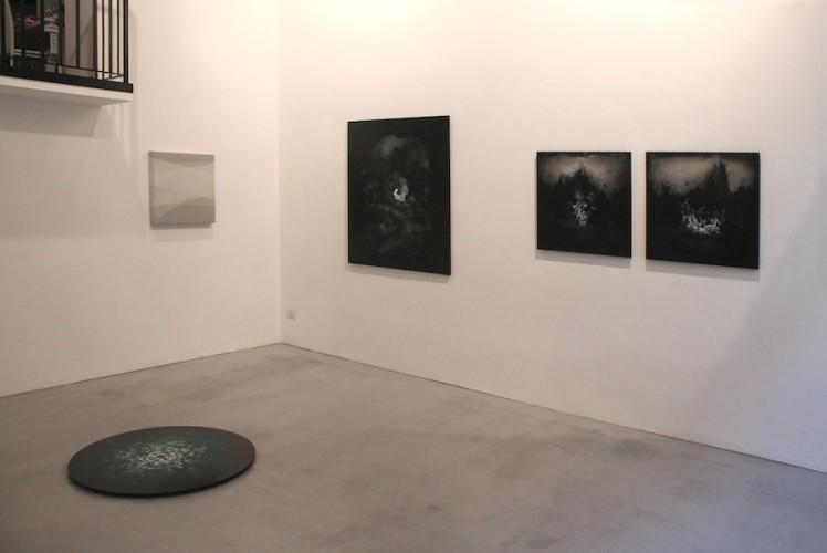 Thomas Scalco e Manuela Toselli. Il decifrabile languore della trasparenza, veduta della mostra, Villa Contemporanea, Monza