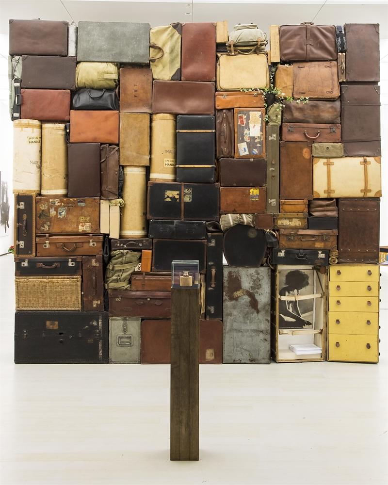 Fabio Mauri.Retrospettiva a luce solida, Museo MADRE, Napoli. Veduta della mostra. Foto: Amedeo Benestante