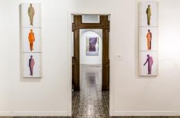 Renato Mambor e i suoi amici, veduta della mostra, Marzia Spatafora Spazio Culturale, Brescia