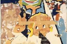 Mimmo Rotella, Grande comp, 1961