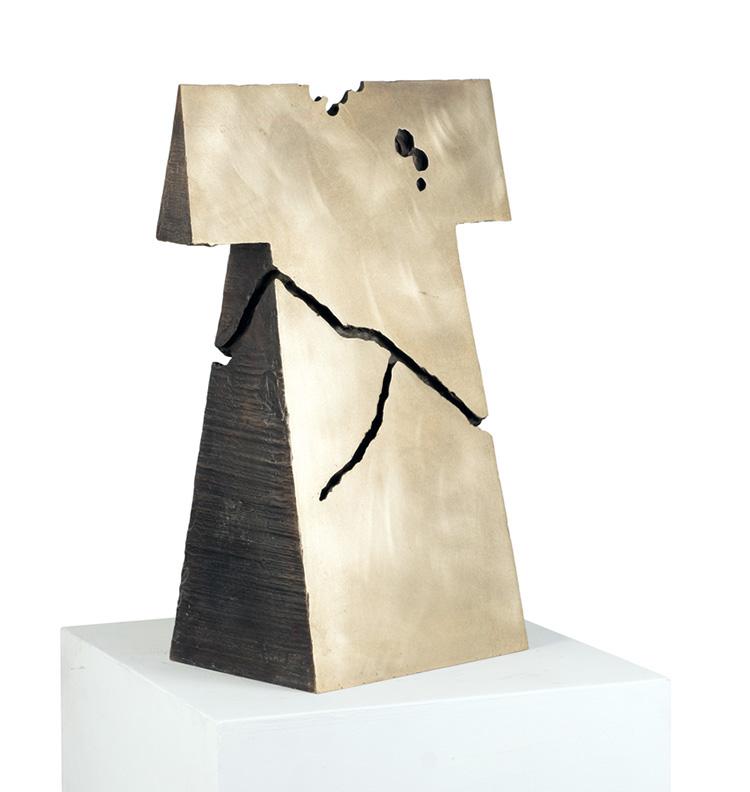 Kengiro Azuma, MU - 774, 1977, bronzo, 70x41.5x25.5 Courtesy Lorenzelli Arte, Milano