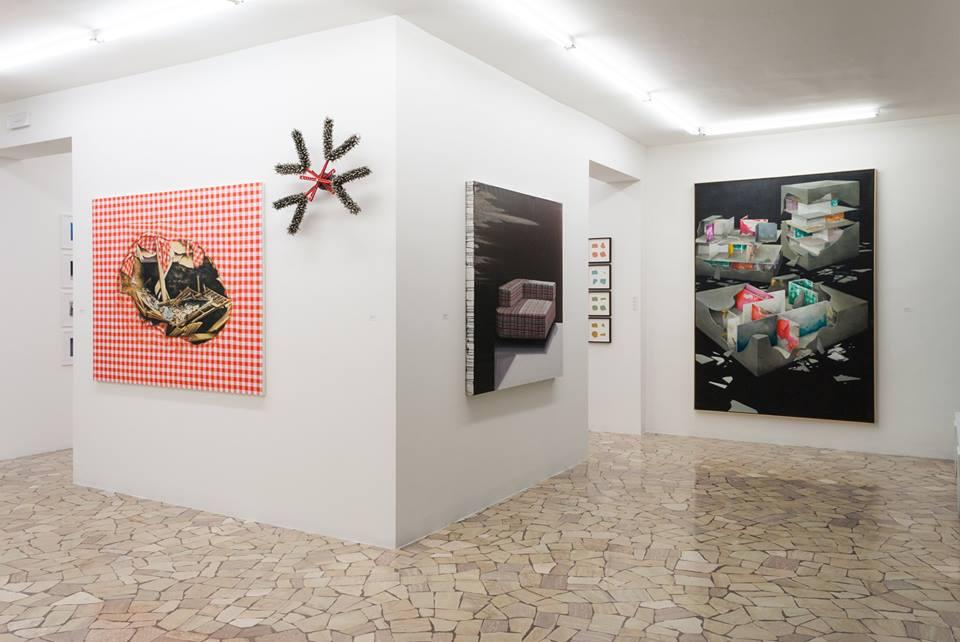 Antonio De pascale, Arnold Mario Dall'O, Gioacchino Pontrelli, James Brooks, Zlatan Vehabovic. Paolo Maria Deanesi Gallery, Trento