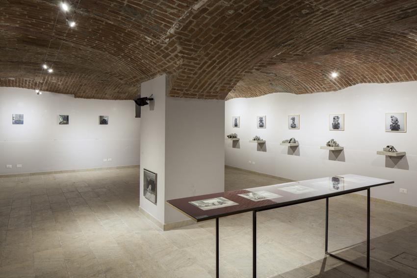 Marco Pace, Non finirò stanziale, Veduta dell'allestimento, Galleria Giovanni Bonelli, Milano