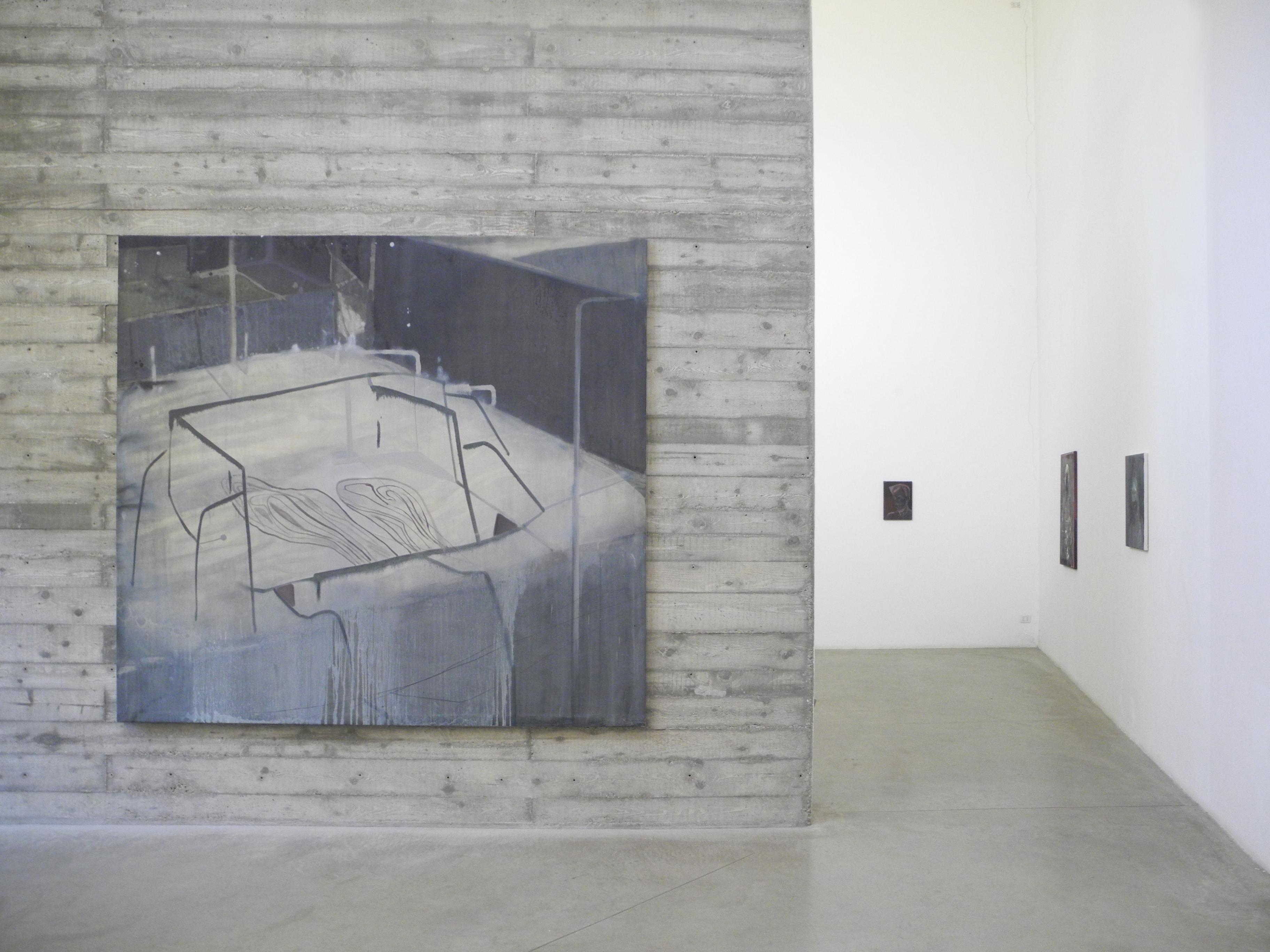 Nebojsa Despotovic, Installation view, Boccanera T gallery, via Ventura 6, Milano