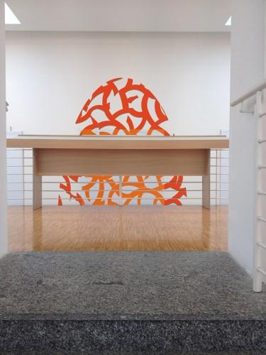 Paolo Iacchetti, Drawing the wall, intervento permanente, MAC Museo d'Arte Contemporanea, Lissone