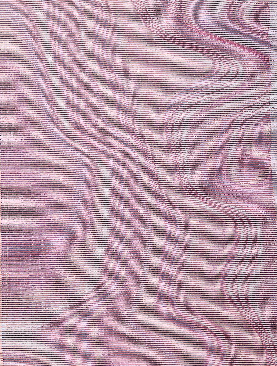 Patrick Tabarelli, {F}, 2017, acrylic on canvas, 80x60cm