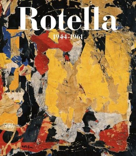 Mimmo Rotella. Catalogo Ragionato. Volume primo 1944-1961, cover del cofanetto, Skira Editore